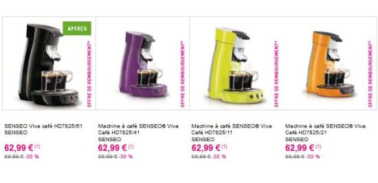 machines senseo viva café philips