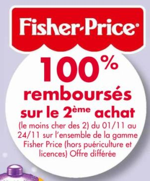 odr fisher price pour noel 2012