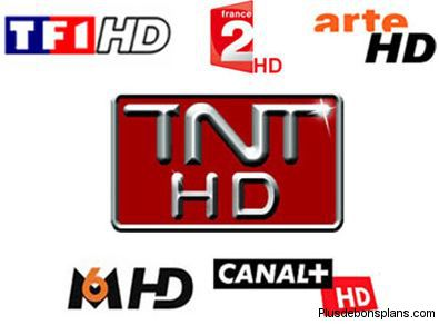les chaines tnt hd