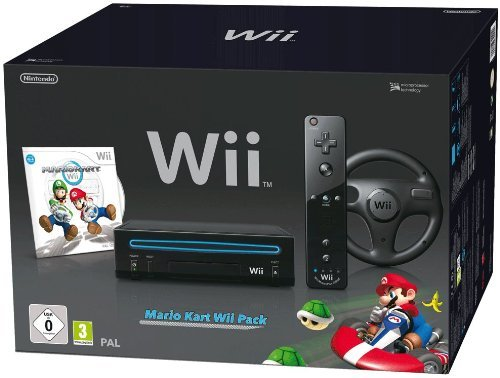 pack console nintendo wii noire