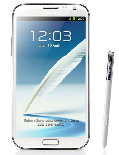 Remboursement Galaxy Note 2