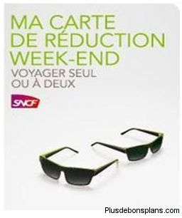 carte sncf réduction week-end