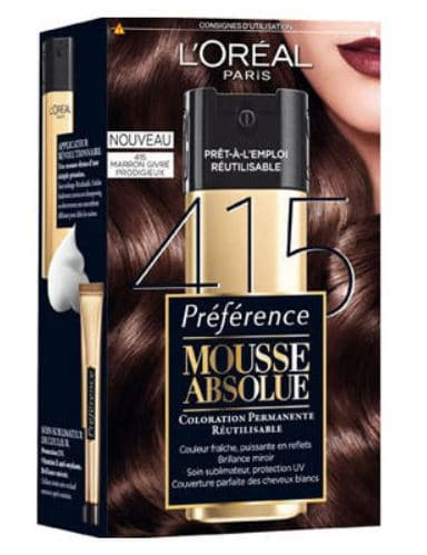 Coloration L'Oréal Mousse Absolue