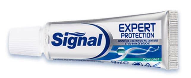 dentifrice signal protection expert