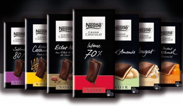 tablette Nestlé Grand Chocolat en test gratuit