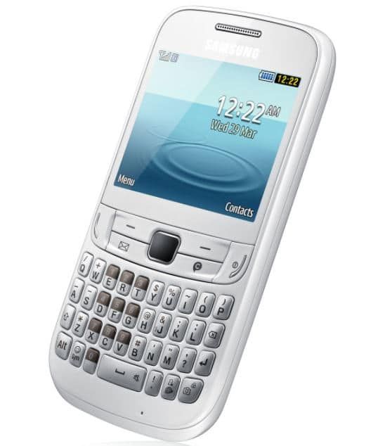vente flash sur le mobile samsung chat 357