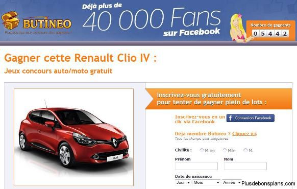 clio 4 renault une voiture gagner. Black Bedroom Furniture Sets. Home Design Ideas