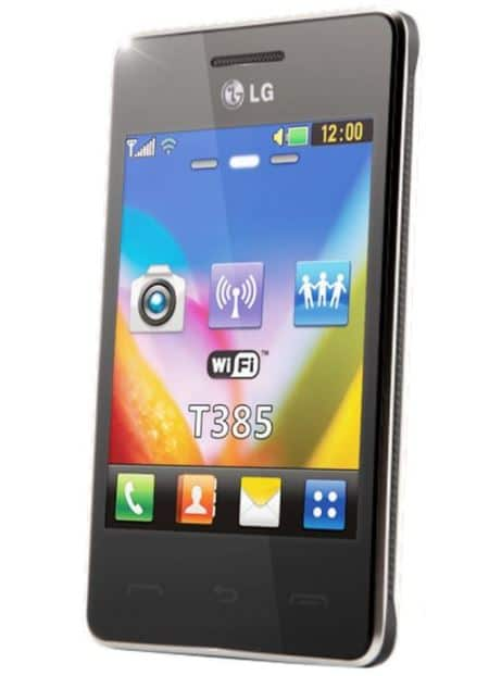 vente flash orange sur mobile lg t385