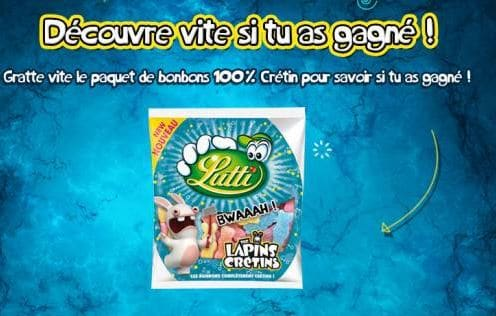 concours Lutti Lapins Crétins
