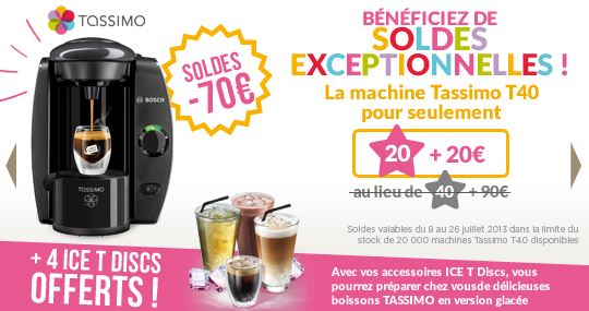 soldes tassimo t40