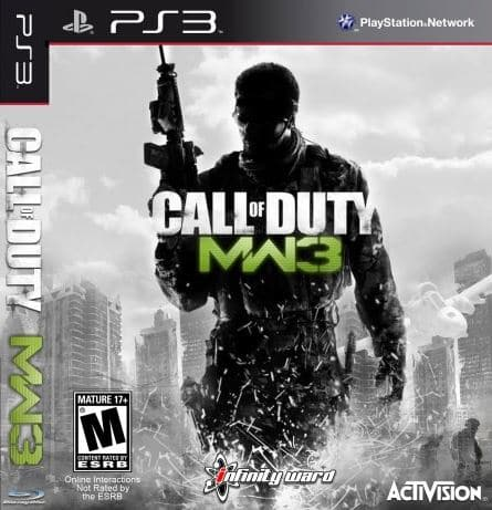 Call of duty modern warfare 3 sur PS3