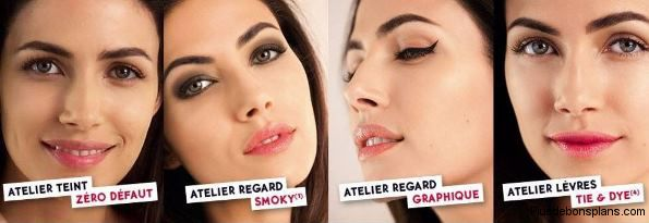 atelier make up days yves rocher