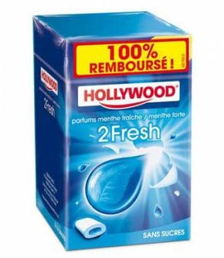 Hollywood Chewing-gum 100% remboursé