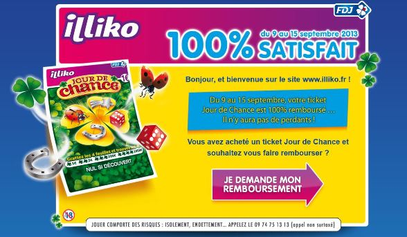 ticket fdj jeu illiko jour de chance