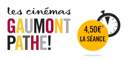 vente flash gaumont pathé mardi