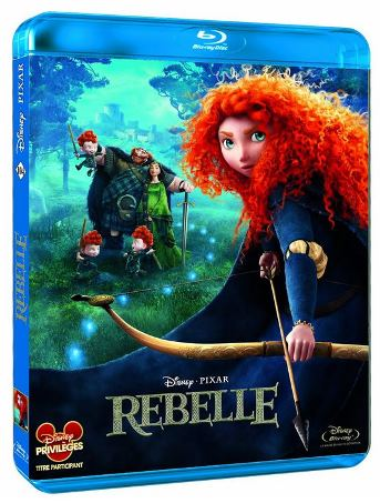 blu-ray rebelle disney