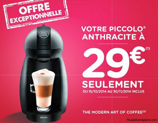 offre remboursement dolce gusto