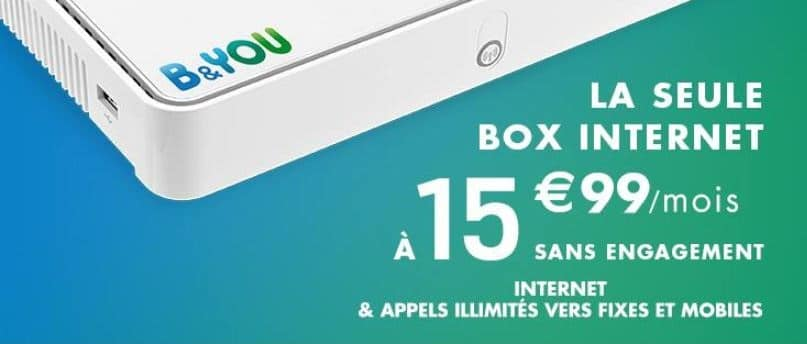 box b and you abonnement internet