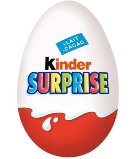 concours oeuf kinder surprise