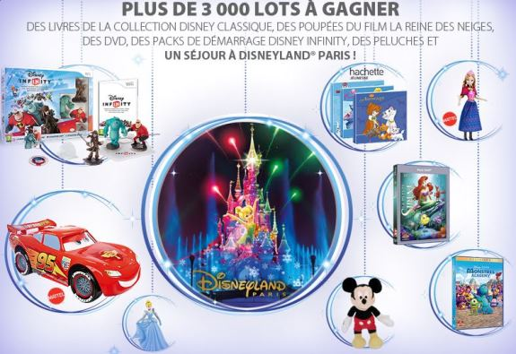 jeu ticket disney privilèges