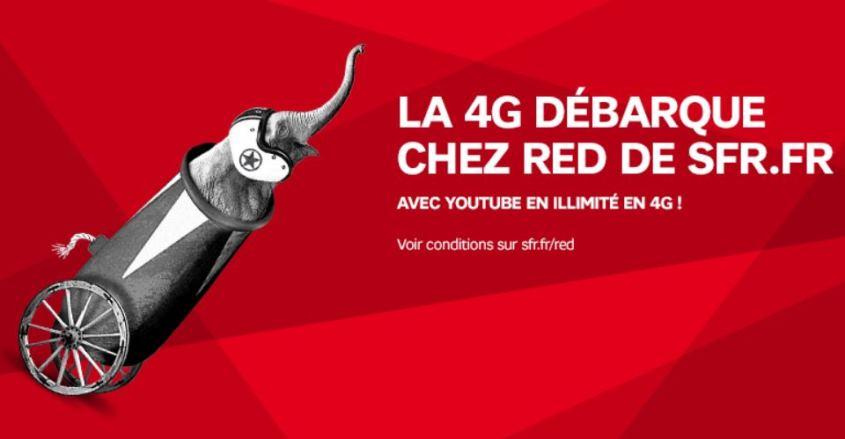 4G chez SFR RED