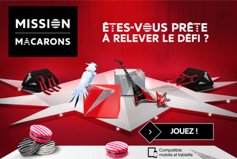 Concours Mission macarons