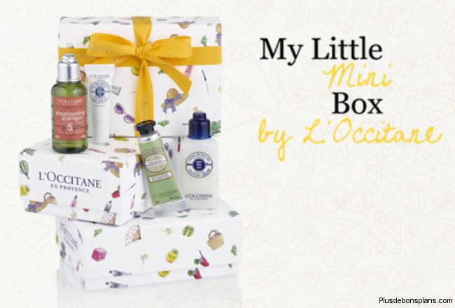 little mini box occitane offerte