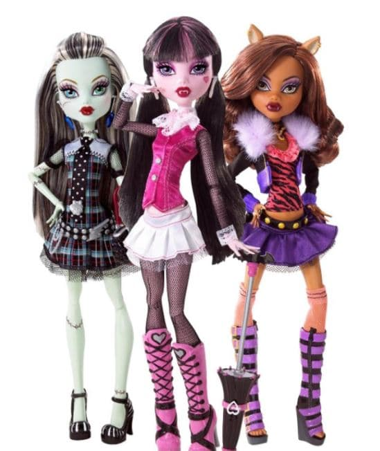 promo poupée monster high