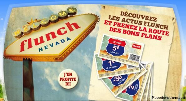 bon réduction flunch 2014