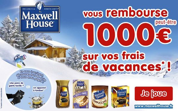 concours maxwell house