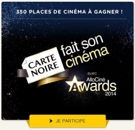 carte noire allociné awards