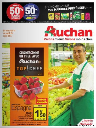 catalogue auchan mars 2014