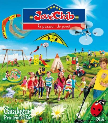 catalogue jouéclub printemps été