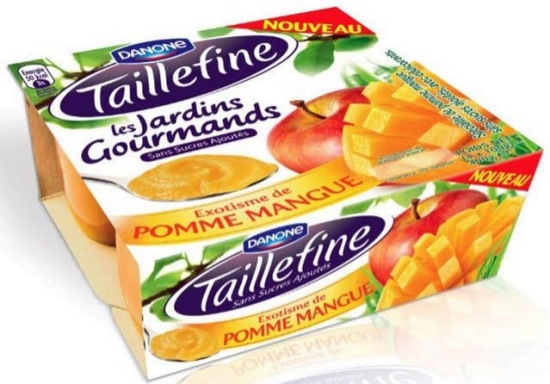 yaourts taillefine pomme mangue