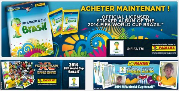 album panini fifa world cup 2014
