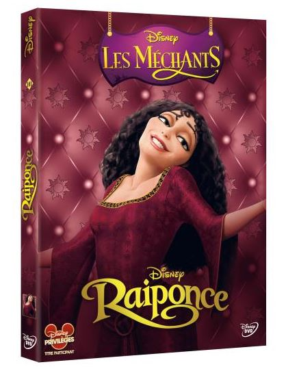dvd disney raiponce les méchants
