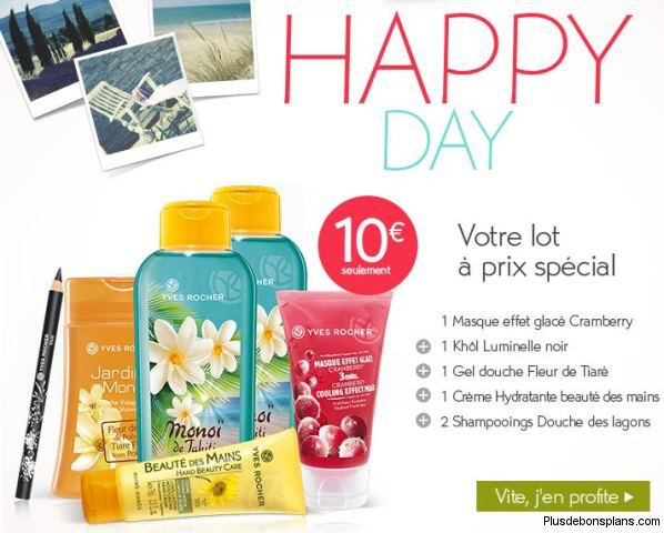 yves rocher happy day