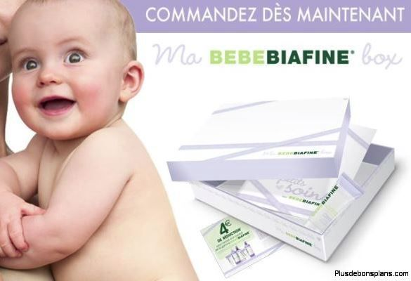 box bébé biafine gratuite
