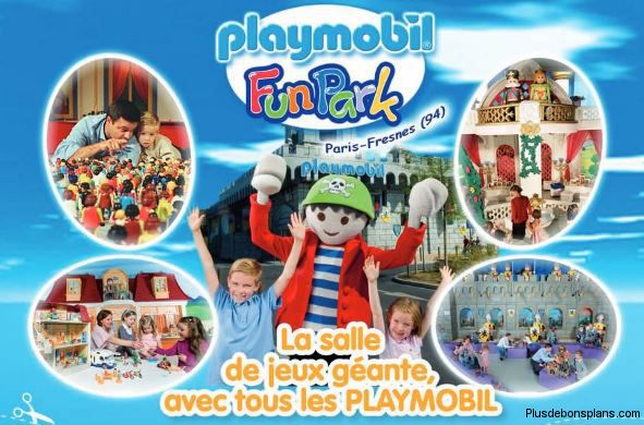 invitation playmobil funpark
