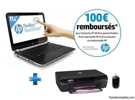pack pavilion touchsmart hp