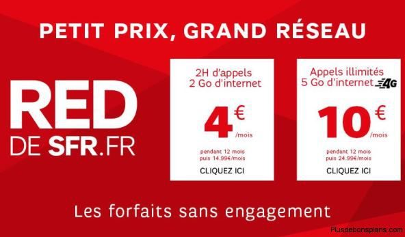 vente privée sfr red