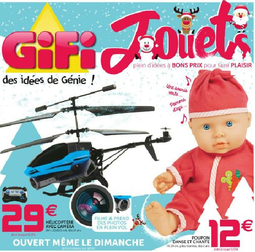 catalogue gifi noël 2015