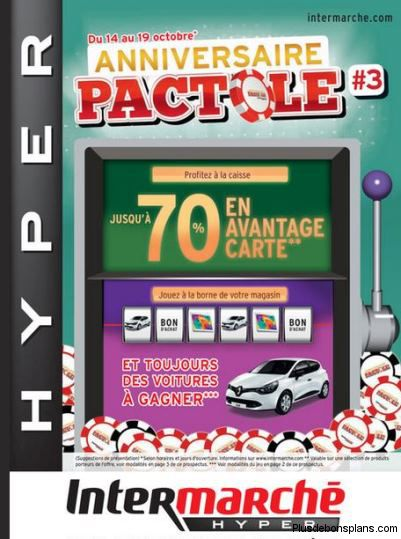catalogue intermarché pactole 3