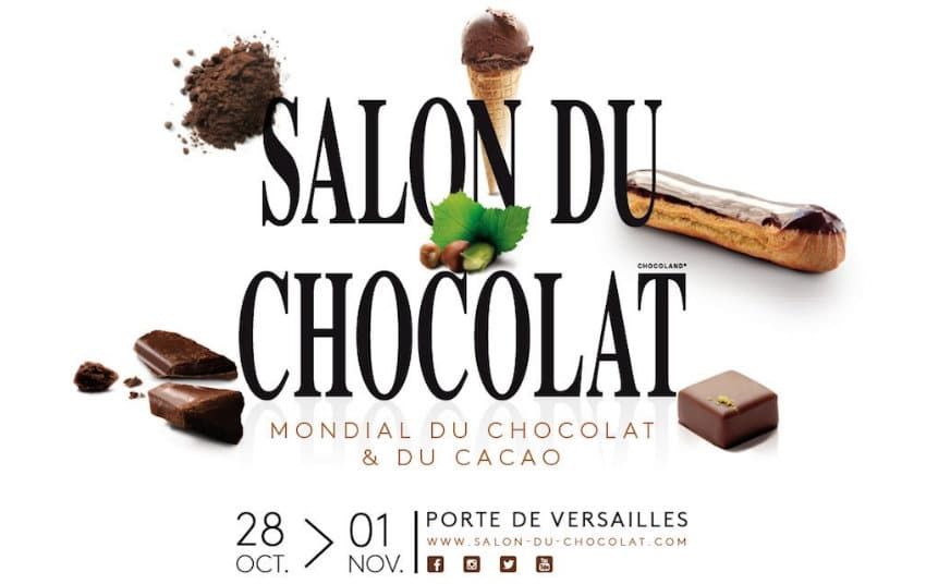 Invitations Gratuites Salon Du Chocolat 2016 à Paris à Gagner