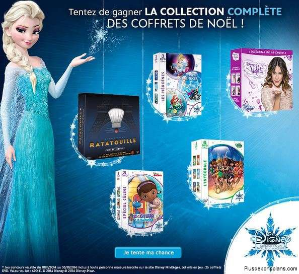 disney collection coffret noel