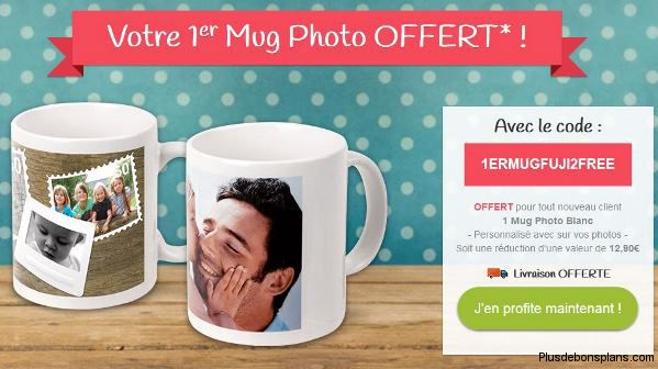 mug photo offert par myfujifilm