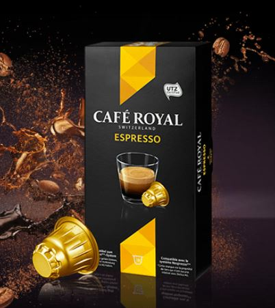 paquet café royal espresso
