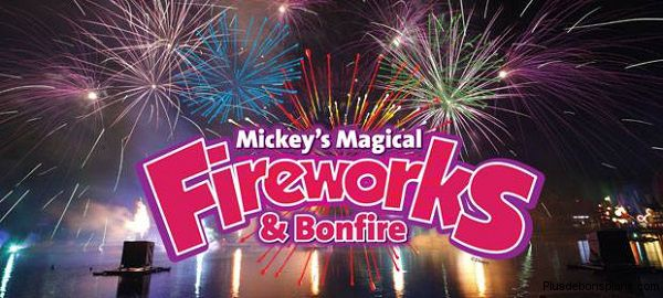 village mickey disney feux artifice gratuits