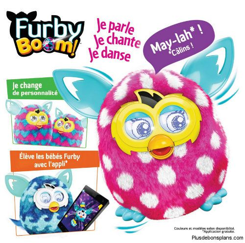 Reduction sur Furby chez Amazon