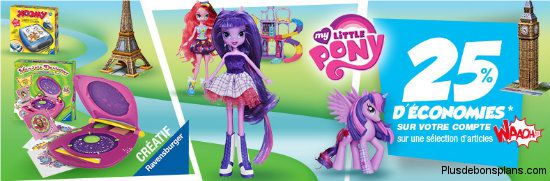Promotion Ravensburger My Little Poney chez Auchan